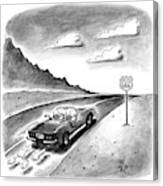 New Yorker February 23rd, 1998 Canvas Print