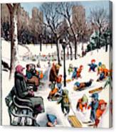 New Yorker February 26th, 1955 Canvas Print