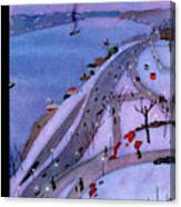 New Yorker February 27th, 1937 Canvas Print