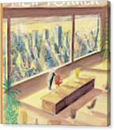 New Yorker February 2nd, 1998 Canvas Print