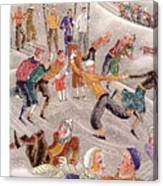 New Yorker February 6th, 1932 Canvas Print