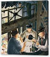 New Yorker February 7th, 1948 Canvas Print