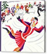 New Yorker January 18th, 1930 Canvas Print