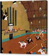 New Yorker January 20th, 1934 Canvas Print