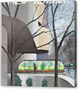 New Yorker January 24th, 1970 Canvas Print