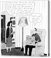 New Yorker January 28th, 1991 Canvas Print