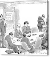 New Yorker July 13th, 1998 Canvas Print