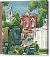 New Yorker July 27th, 1946 Canvas Print