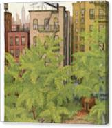 New Yorker July 31st, 1954 Canvas Print