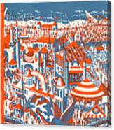 New Yorker July 4th, 1925 Canvas Print