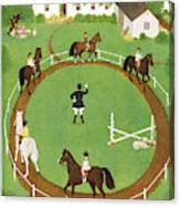 New Yorker June 18th, 1949 Canvas Print