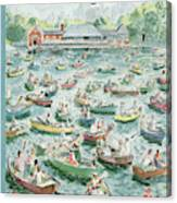 New Yorker June 23rd, 1956 Canvas Print