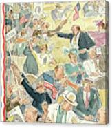 New Yorker June 24th, 1944 Canvas Print