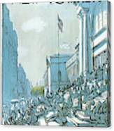 New Yorker June 27th, 1977 Canvas Print