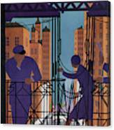 New Yorker June 3rd, 1933 Canvas Print