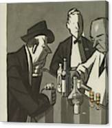 New Yorker March 11th, 1950 Canvas Print