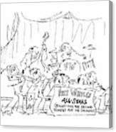 New Yorker March 12th, 1979 Canvas Print