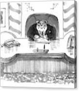 New Yorker March 1st, 1993 Canvas Print