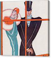 New Yorker March 20th, 1926 Canvas Print