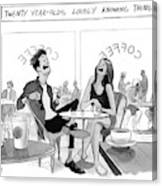 New Yorker March 20th, 2017 Canvas Print