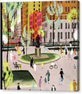 New Yorker May 18th, 1935 Canvas Print