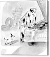 New Yorker May 23rd, 2005 Canvas Print