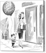 New Yorker May 24th, 1999 Canvas Print