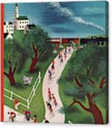 New Yorker May 28th, 1938 Canvas Print