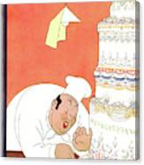 New Yorker May 5th, 1928 Canvas Print