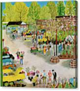 New Yorker May 7th, 1960 Canvas Print