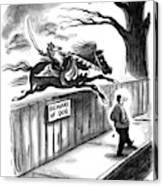 New Yorker November 14th, 1994 Canvas Print