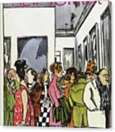 New Yorker November 19th, 1966 Canvas Print