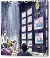 New Yorker November 1st 1976 Canvas Print