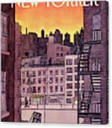 New Yorker November 25th, 1985 Canvas Print