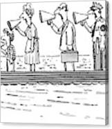 New Yorker October 10th, 1983 Canvas Print