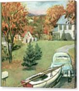 New Yorker October 11th, 1958 Canvas Print
