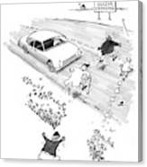 New Yorker October 13th, 1997 Canvas Print