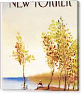New Yorker October 1st, 1984 Canvas Print