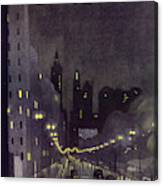 New Yorker October 29 1932 Canvas Print
