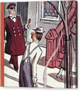 New Yorker October 29th, 1938 Canvas Print