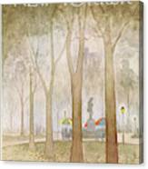 New Yorker October 3rd, 1977 Canvas Print