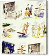 New Yorker September 14 1940 Canvas Print