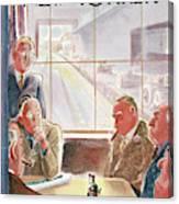 New Yorker September 15th, 1945 Canvas Print