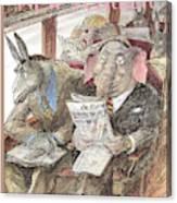 New Yorker September 28th, 1998 Canvas Print