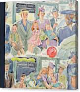 New Yorker September 7th, 1940 Canvas Print