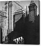 New York's Financial District Canvas Print