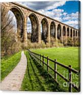Newbridge Rail Viaduct Canvas Print