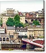 Newcastle Upon Tyne Quayside Canvas Print