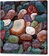 Newfoundland Beach Rocks 2  Canvas Print