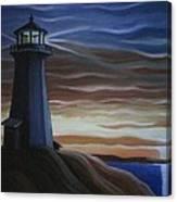 Newfoundland Lighthouse Canvas Print